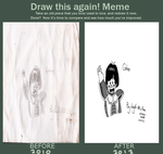 Draw it Again meme: Gohan by Zunachina