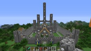 Minecraft Castle 3 by Abyss1