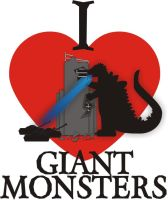 I Heart Giant Monsters V.2 by Jay13x