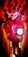 Clock Heart by DeathRage22