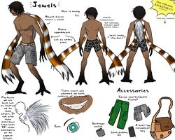 Jewels ref Sheet by LadyOfTheDragons