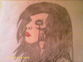 Black Veil Brides Andy Biersack by WhiteWolfyGurl