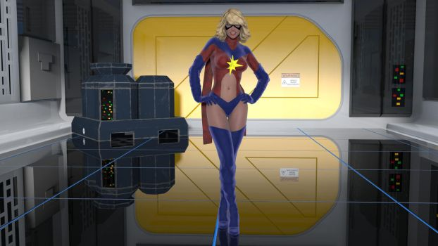 The Original Ms Marvel by MickLee99