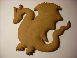 Gingerbread Dragon by aimless-albatros