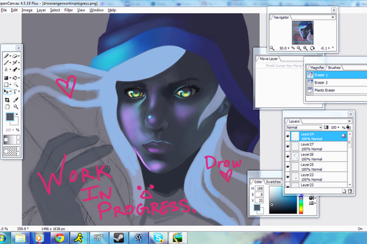 Dota2: Drow Ranger WIP by BaneIing