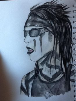 Christian Coma (CC) - Watercolour painting by BlacklightArtist02