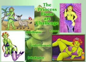 Princess Fiona Art Challenge by godzillasmash