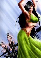 belly dancer 2 by slaine69