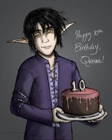 Happy Birthday to Quirinus by ZerachielAmora