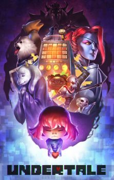 Undertale Fan Art by alben
