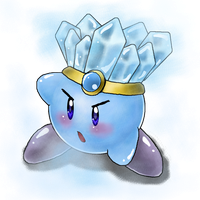Ice Kirby!! by EmBeRNaGa