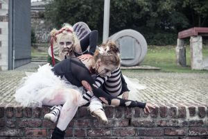 Ballet meets Zombies: Entwined 2 by SeelederSchar