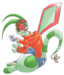 mint3465 into Flygon by midorimushiG
