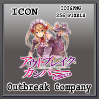 Outbreak Company Icon by Myk-2103