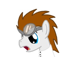 Dr Horrible is now a pony by InkBlu