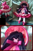 Little Red Hood Bunka Doll by bezzalair