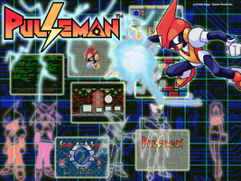 Pulseman Wallpaper by DarkCream