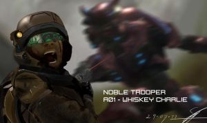 Noble Trooper: A01 - 3 Charlie by LostDecay