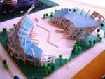 bus terminal scale model B by architect-jong