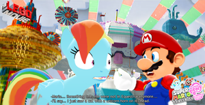 Mario and RD in Cloud Cuckooland by IcePony64