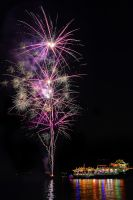 The Floating Temple Firework - 3 by SAMLIM