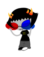 Sollux: How do ii look? by defeatedart