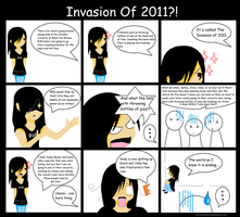 The Invasion of 2011? by KotomiMaya