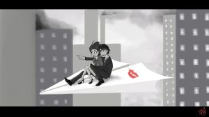 Paperman by chetom