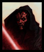 Maul Sketch by VegasMike