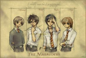 The Marauders by hakumo