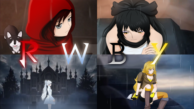 Tales of RWBY Anime Poster by ViviSaphira