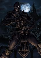 Noob Saibot by phrenan