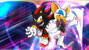 Shadow and Rouge [2015] by Light-Rock