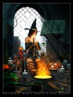 Halloween Magic by Fredy3D