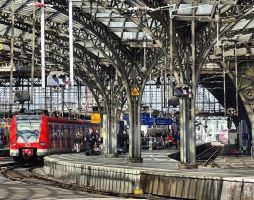 Cologne Central Station ( new edit ) by UdoChristmann