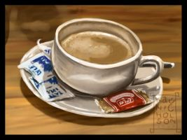 Coffee Hour by Kat-Nicholson