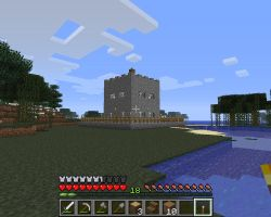 minecraft screenshots fortified house 3 by falcon01