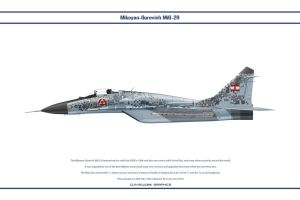 MiG 29 Lebanon 2 by WS-Clave