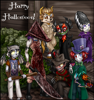 a late Halloween greeting by Amelius