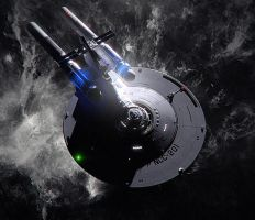 NCC-201 Explores the Anomaly by aalenfae