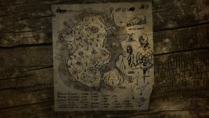 The Forest Map Wallpaper 3 by manbearpagan