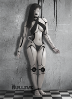 Cyborg female by theBULLsvk