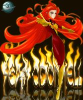 Dark Phoenix by Sean-Loco-ODonnell