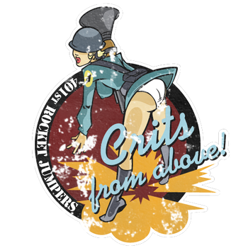 Vintage Soldier TF2 Spray by outlawink