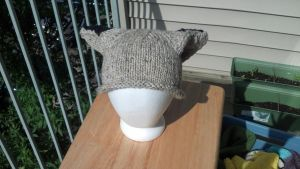 Grey Fox Hat by aetherfang
