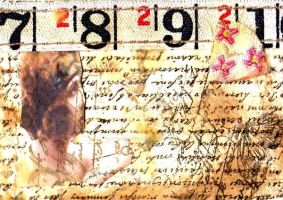ATC:Vintage Words by AeliaNaqwiDesigns