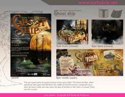 Ghost Ship Flyer -Entire Proof by thatladyj