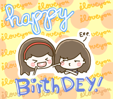 Happy Birthday, Dey! by yeldoodledoo