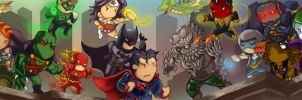 JLA vs Forever Evil by Arcsh