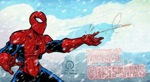 Spidey Christmas by JoeyVazquez